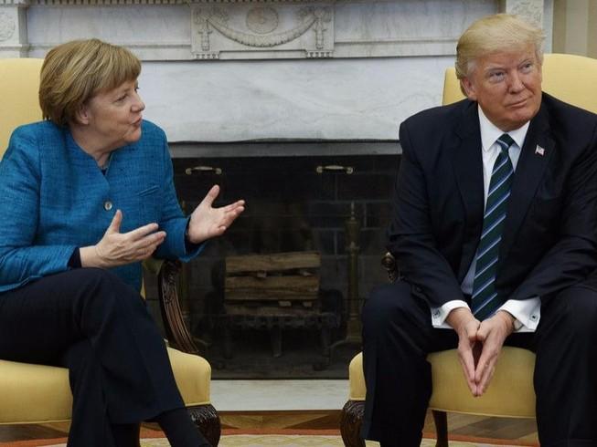 Trump - Merkel gặp suôn sẻ, bất đồng vẫn tiềm tàng