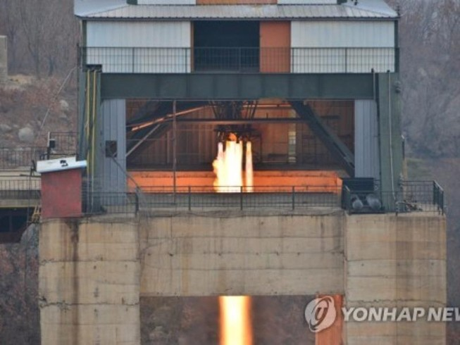 Mỹ: Triều Tiên thử động cơ tên lửa xuyên lục địa