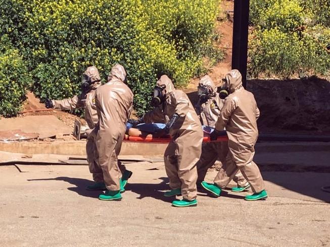 Tình báo Mỹ có chứng cứ quân Syria đánh bom hóa học