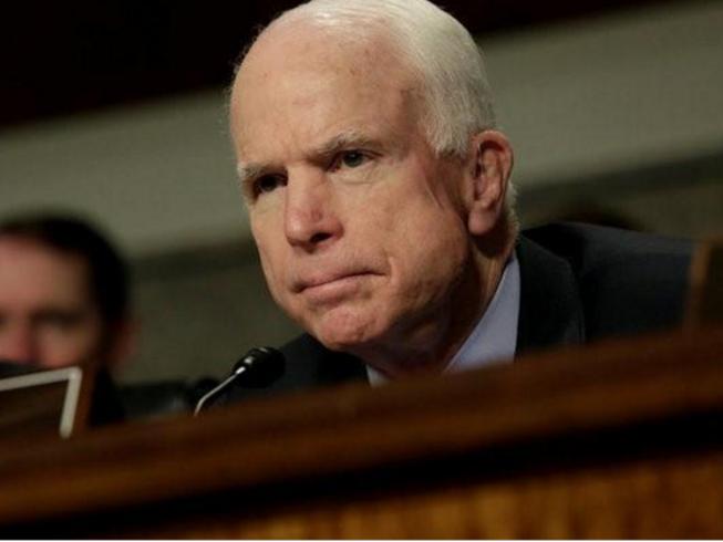 Nghị sĩ lão thành Mỹ McCain bị ung thư não