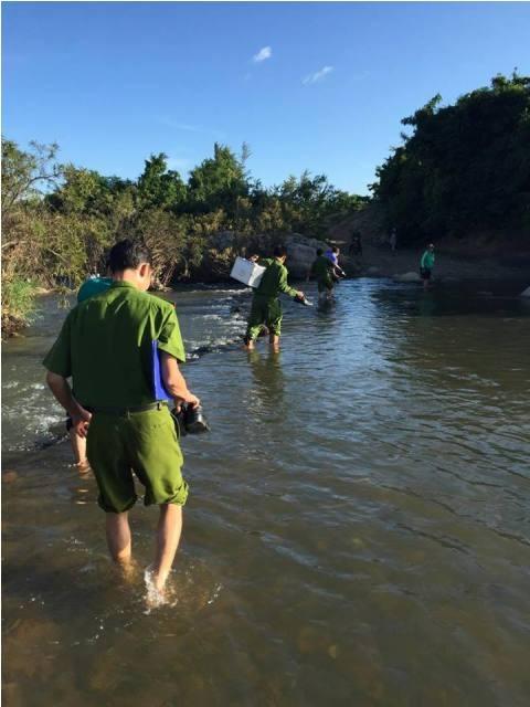 Ninh Thuận: Mất tích một tuần, phát hiện thi thể bên bờ suối