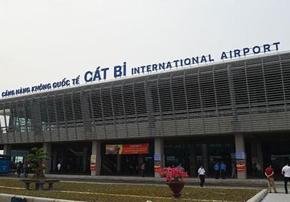 Đã sửa xong sự cố lún, nứt đường lăn ở sân bay Cát Bi