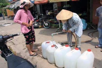 Nhiều khu vực sẽ thiếu nước trong ngày 1 và 2-7