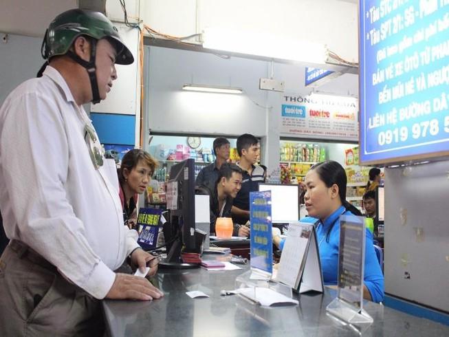 Ga Sài Gòn giảm giá đặc biệt cho hành khách đi tàu