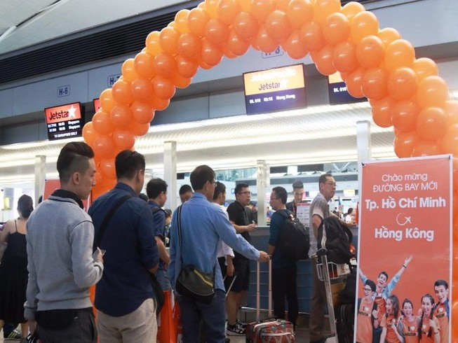 Thêm đường bay mới TP.HCM - Hong Kong