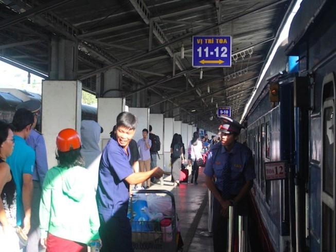 Bão số 10: Lưu ý quan trọng với các hành khách đi tàu