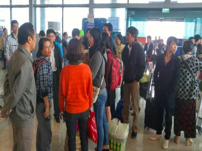 16 chuyến bay của Jetstar Pacific bị huỷ vì bão