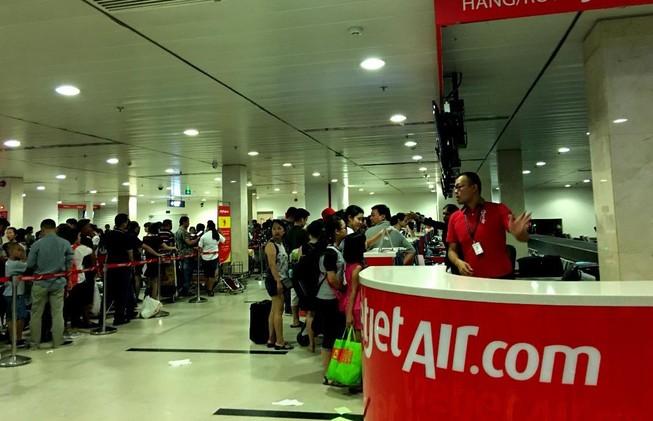 Vietjet Air ngừng khai thác 24 chuyến bay miền Trung