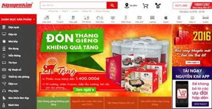 Nguyễn Kim và mùa mua sắm 2016