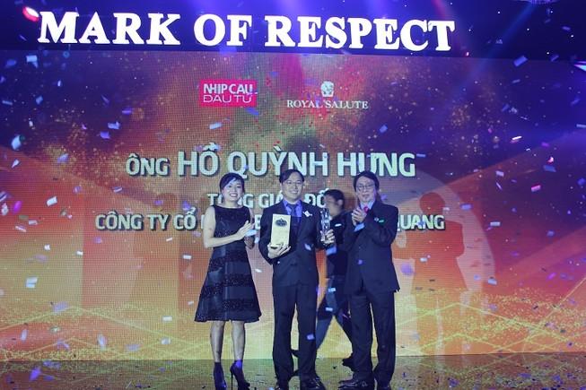 Tổng giám đốc Điện Quang đứng đầu danh sách '50 nhà lãnh đạo doanh nghiệp'