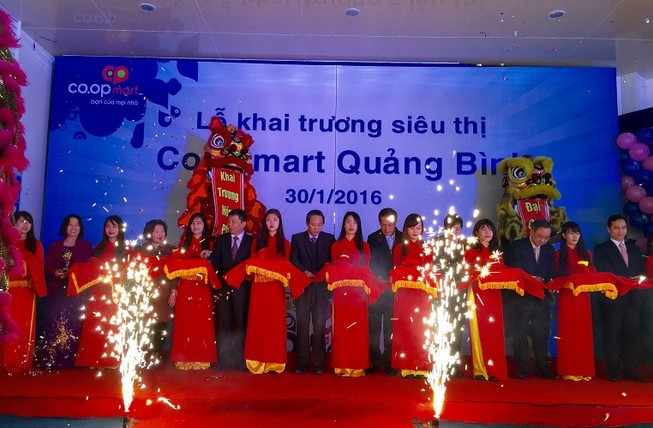 Khai trương siêu thị Co.opmart thứ 81 tại Quảng Bình