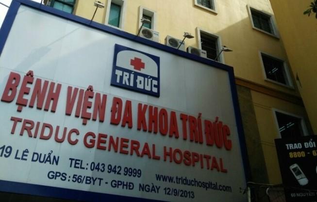 Làm rõ việc 2 bệnh nhân tử vong tại BV Đa khoa Trí Đức