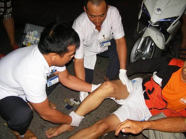 Sơ cứu người bị tai nạn giao thông tại hiện trường