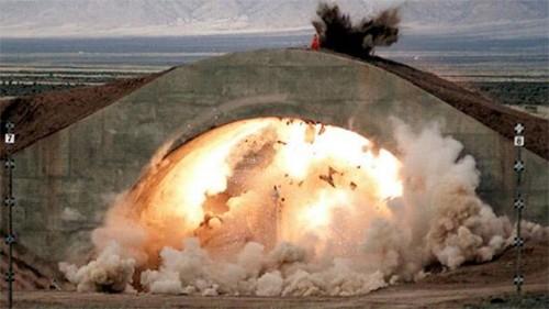 Mỹ thử thành công bom xuyên phá bongke hạng nặng nâng cấp