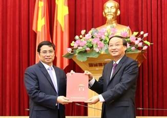 Bí thư Quảng Ninh giữ chức Phó Trưởng ban Tổ chức Trung ương