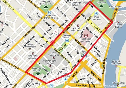 TP.HCM cấm nhiều đường để diễn tập mít tinh 30-4