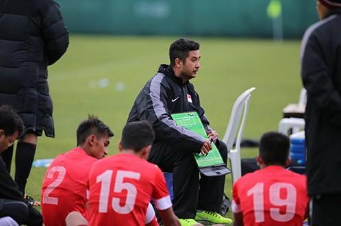 U23 Singapore quyết tâm xây dựng đội hình 'khủng'