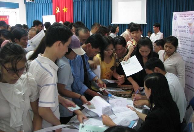 Sau lễ, đăng ký thất nghiệp không tăng đột biến