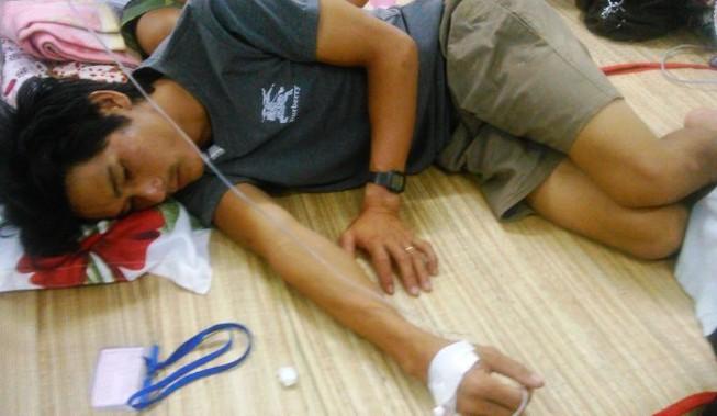 Hai anh em bị sét đánh, một người tử vong