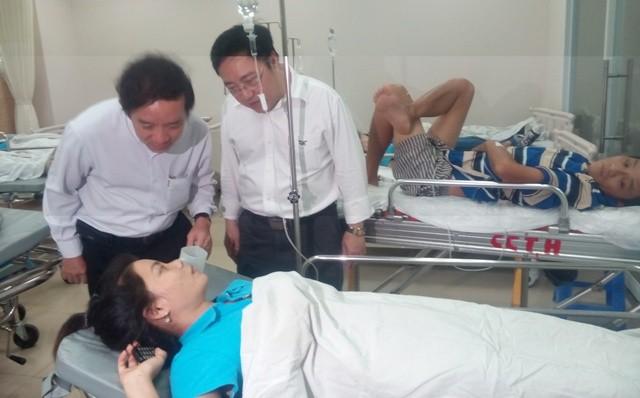 Công nhân ở Đồng Nai bị ngộ độc là do nổ van dẫn khí