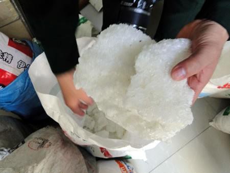 Bình Định: Phát hiện cơ sở làm bột ngọt giả quy mô lớn