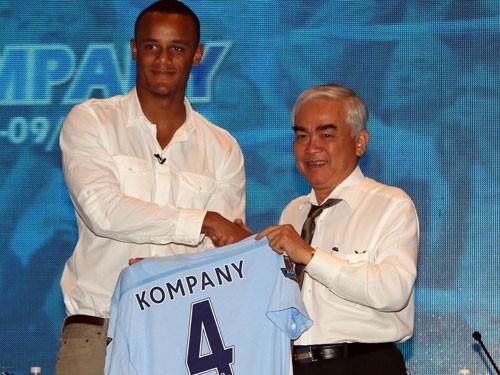 Manchester City giao hữu với tuyển Việt Nam tại Mỹ Đình