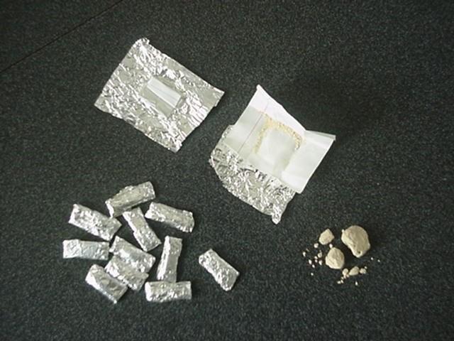 Bắt nguyên giáo viên tàng trữ ma túy
