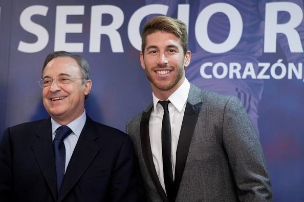 Real 'trói' Sergio Ramos bằng lương khủng