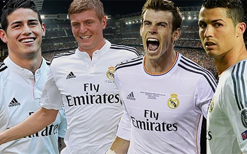 Real Madrid có đội hình đắt đỏ nhất châu Âu