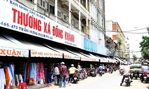 Tiểu thương chợ Soái Kình Lâm gửi đơn đến Bộ Tài chính