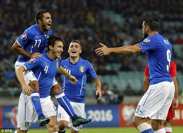 Đêm qua, xác định thêm ba đội giành vé dự vòng chung kết Euro 2016