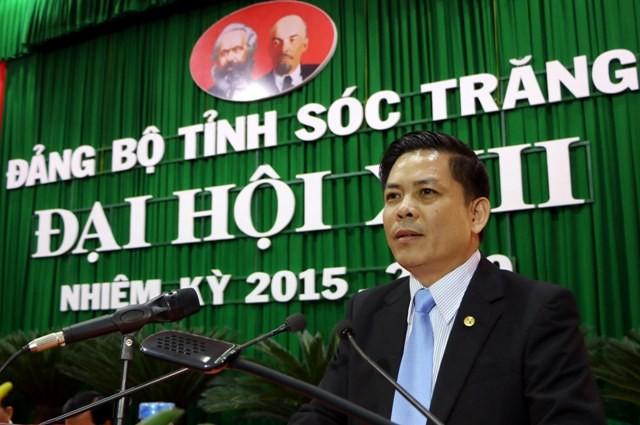 Bộ Chính trị điều động ông Nguyễn Văn Thể làm bí thư Sóc Trăng