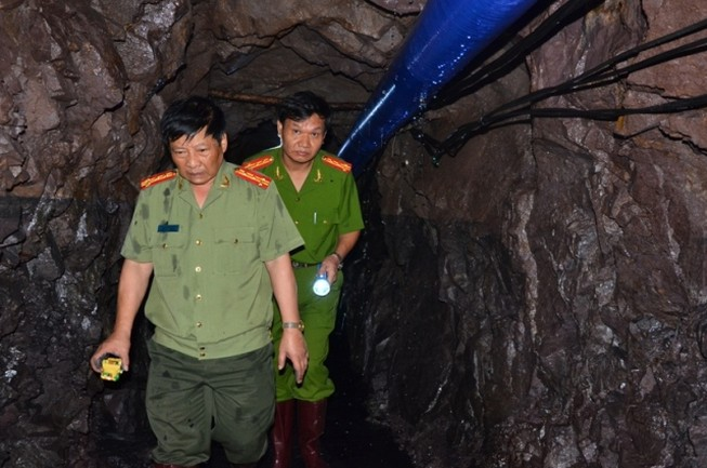 Tìm thấy thi thể một nạn nhân trong vụ sập hầm than ở Hòa Bình