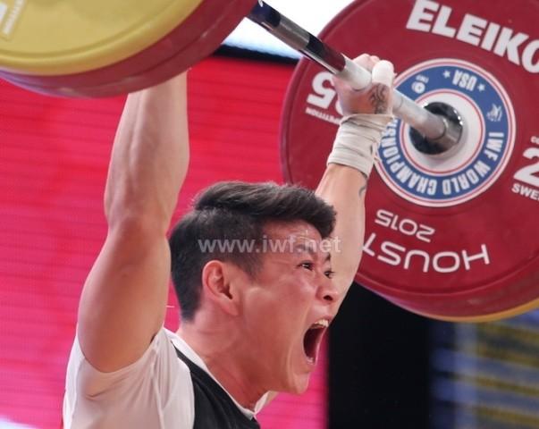 Thạch Kim Tuấn giành huy chương đồng giải cử tạ vô địch thế giới