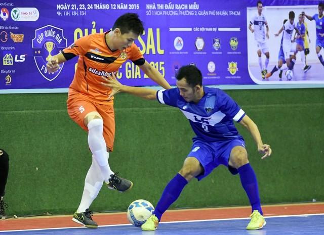 Giải Cúp Quốc gia Futsal: Thái Sơn Nam quá mạnh, Thái Sơn Bắc thua trận