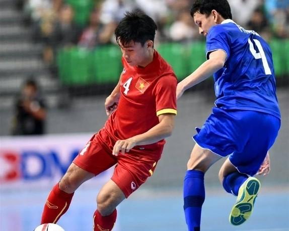 VFF thưởng nóng tuyển Futsal Việt Nam 1 tỉ đồng