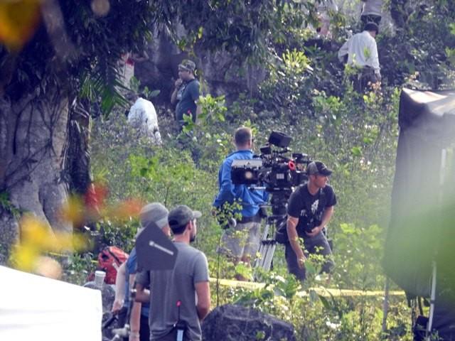 Cảnh quay đầu tiên của Kong: Skull Island ở làng 'vô danh' Yên Phú