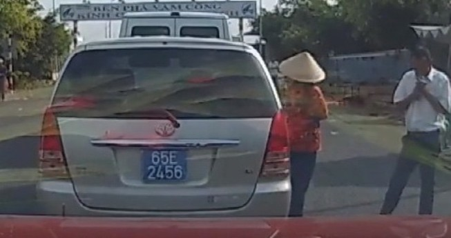 Cần Thơ: Xe công bị dàn cảnh lấy trộm tài sản là của quận