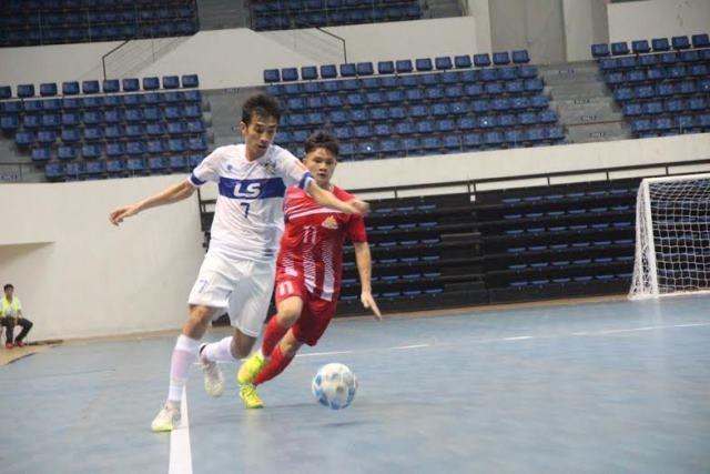 Sanna Khánh Hòa duy trì ngôi đầu Giải Futsal VĐQG 2016
