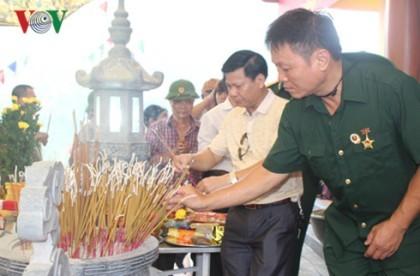 Khánh thành Nhà tưởng niệm các anh hùng liệt sĩ mặt trận Vị Xuyên