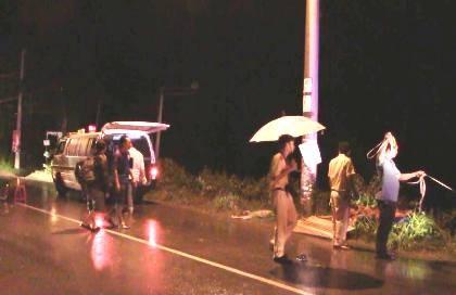 Chạy xe tông vào cột điện, nam thanh niên chết thảm