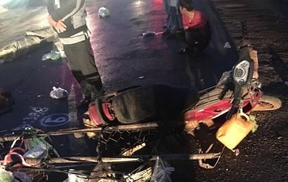 Truy tìm tài xế xe tải cán chết người rồi bỏ trốn