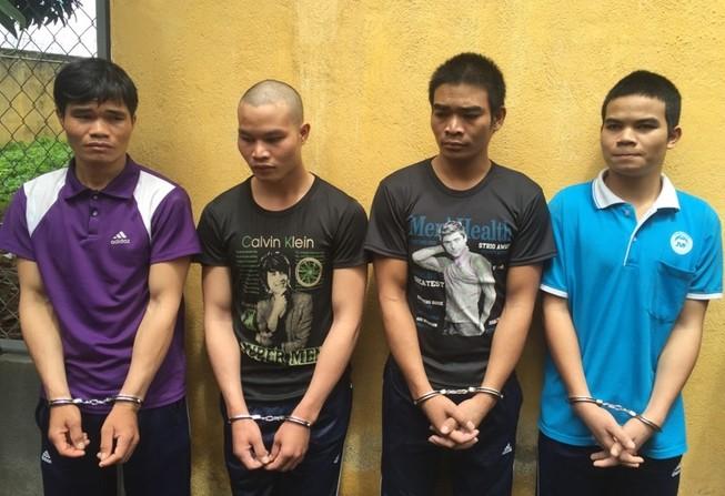 4 anh em ruột lập băng cướp giật khắp Tây Nguyên