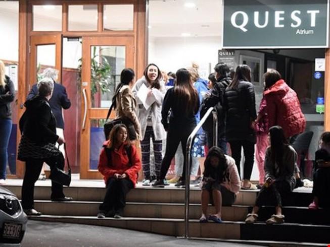 Động đất ở New Zealand, không có người Việt bị thương