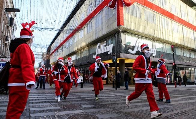 Chùm ảnh: Người dân Bắc Âu chào đón Giáng sinh 2016
