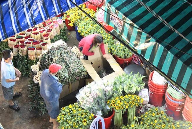 Trước ngày 8-3, chợ hoa Hồ Thị Kỷ có gì hấp dẫn?