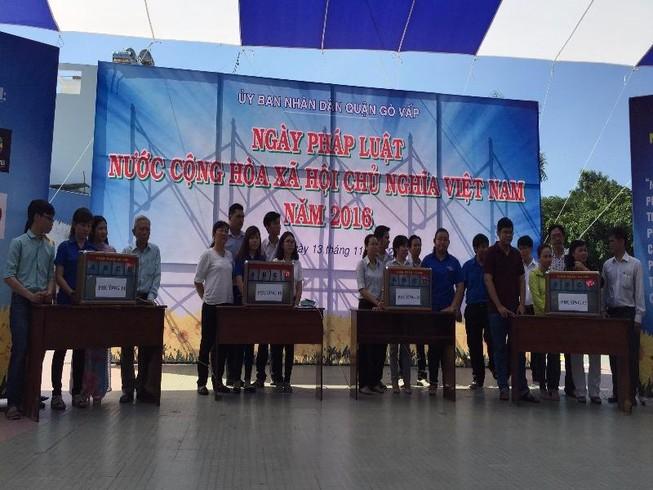 Quận Gò Vấp tổ chức hội thi pháp luật