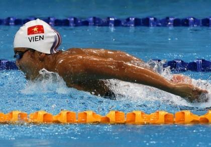 Ánh Viên xuất sắc vào chung kết 200m Cúp thế giới 2015