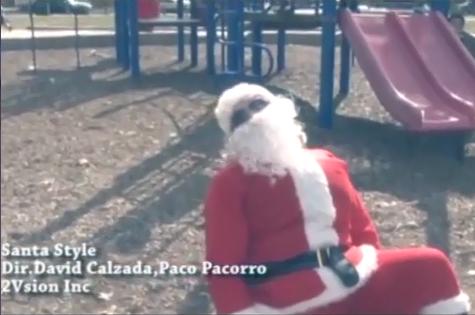 Ông già Noel chế bài hát Gangnam Style hot nhất tuần qua