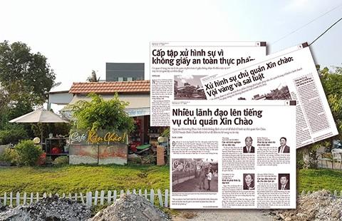 Người trực tiếp ký quyết định truy tố chủ quán Xin Chào bị tạm đình chỉ